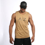 AZ Men Tank-Top - KHAKI